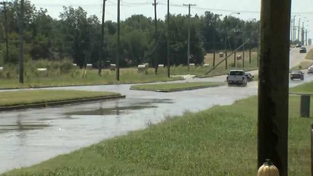 WEB EXTRA: Video Of Traffic On North Memorial At Water Main Break Near Latimer