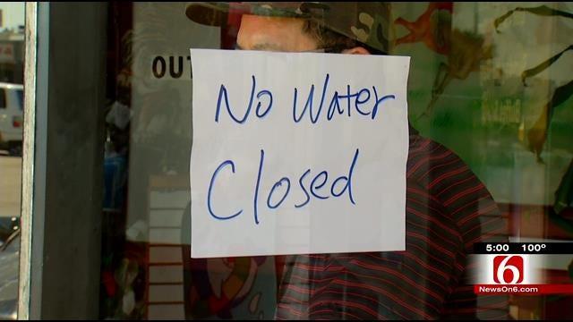 City Of Tulsa Working To Repair Numerous Water Main Breaks