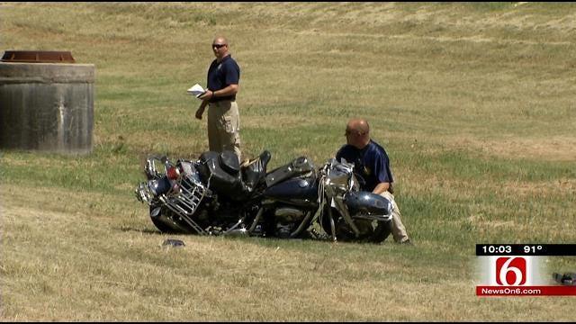 Motorcyclist Dies After West Tulsa Wreck