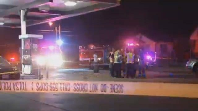 WEB EXTRA: Video From North Lewis Traffic Accident