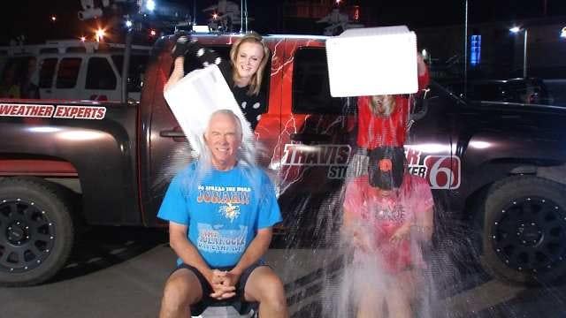 Dick Faurot And Chera Kimiko Take The ALS Ice Bucket Challenge