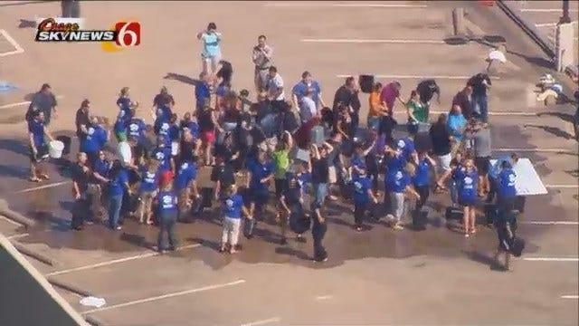 Osage SkyNews 6 HD: Tulsa Matrix Employees Take ALS Ice Bucket Challenge