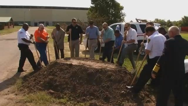 WEB EXTRA: Video From Groundbreaking Of New Muskogee First Responder Training Center