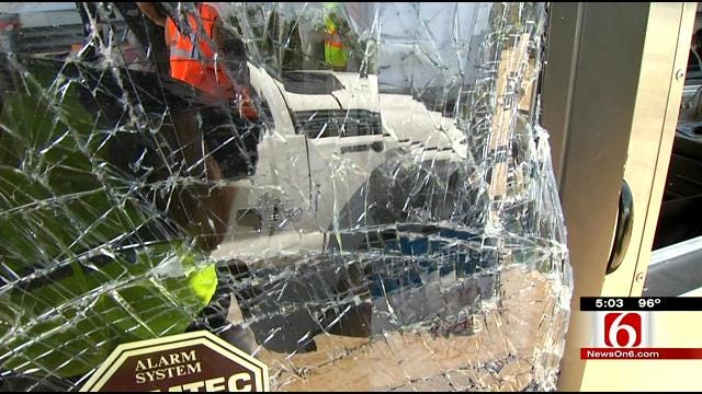 OHP: Drunk Driver Crashes Into Muskogee Turnpike Toll Booth Injuring Attendant