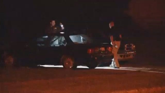 WEB EXTRA: Video Of Scene Of Fatal Shooting On North Elwood