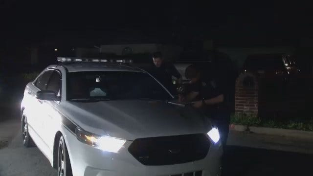 WEB EXTRA: Video From Scene Of Tulsa Stabbing Homicide