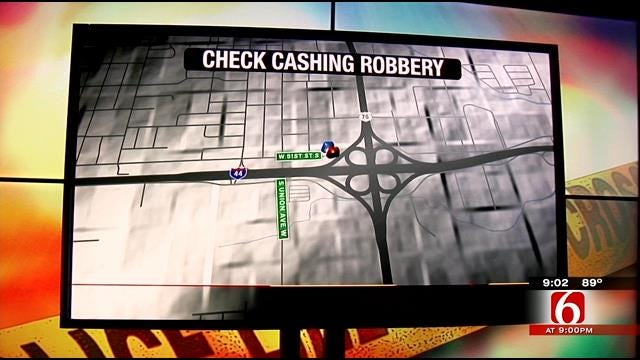 Police Seek Man In West Tulsa Armed Robbery