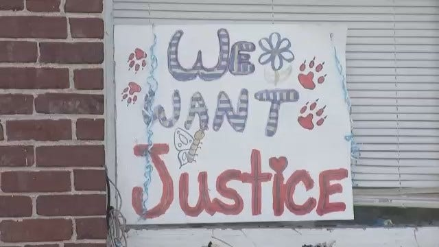 Friends, Family Rally For Tulsa Teen Reportedly Killed By Tulsa Police Officer