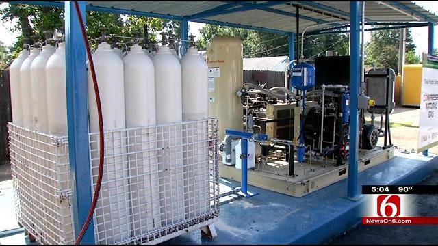 Tulsa Public Schools Receive CNG Compressor Through Grant
