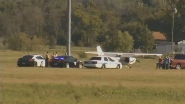 Training School Plane Makes Forced Landing Outside Sapulpa
