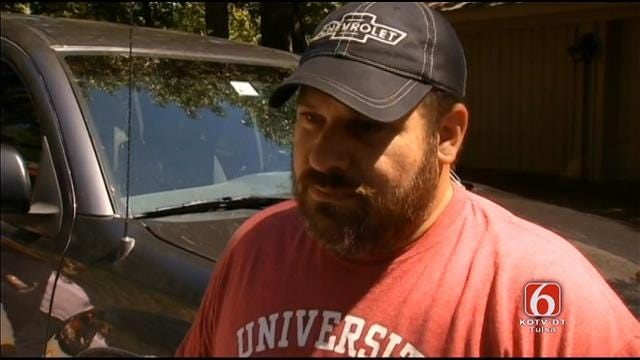 WEB EXTRA: Passerby Who Helped Rescue Tulsa Woman