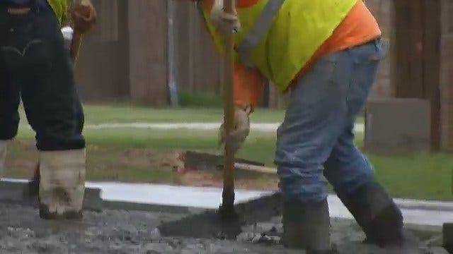 Crews Rush To Complete Construction On Broken Arrow Schools