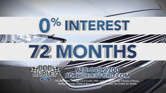Bob Hurley Ford: 0% for 72 Months