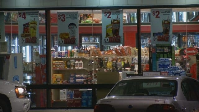 WEB EXTRA: Police Search For Sand Springs Armed Robber