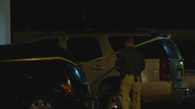 WEB EXTRA: Man Shot In Stomach At Route 66 Gas Station