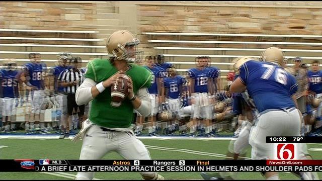 Tulsa Football Scrimmages On Saturday