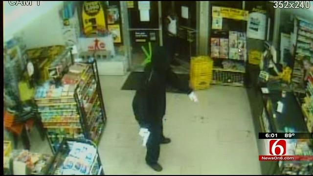 Tulsa Police: Clerk Gets Armed Robber To Call 911 To Report His Crime
