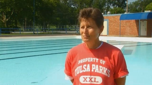 WEB EXTRA: Rhonda Freiner With Tulsa Parks Talks About The Pools