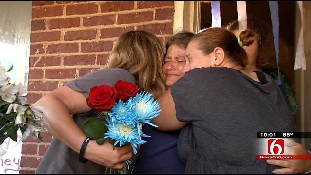 Vigil Held For Shooting Victim; Female Cop Suspect Out Of Jail