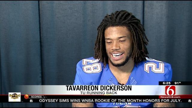 TU Football: Transefer RB Dickerson Impressing In Camp