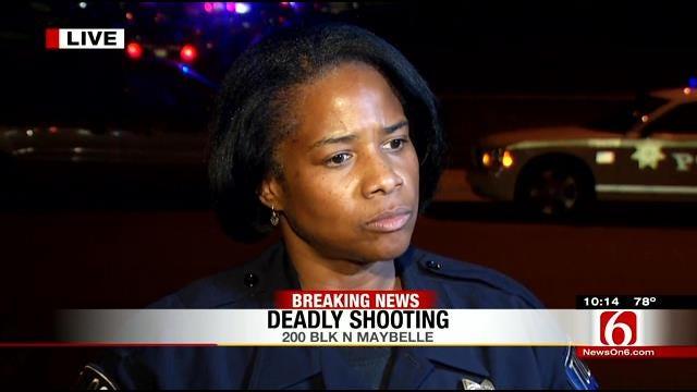 Tulsa Police Respond To Shooting Death In North Tulsa