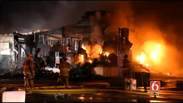 WEB EXTRA: Try It Again Appliances In Sand Springs Burns