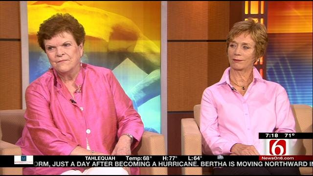 6 In The Morning's LeAnne Taylor Talks With Two Breast Cancer Survivors