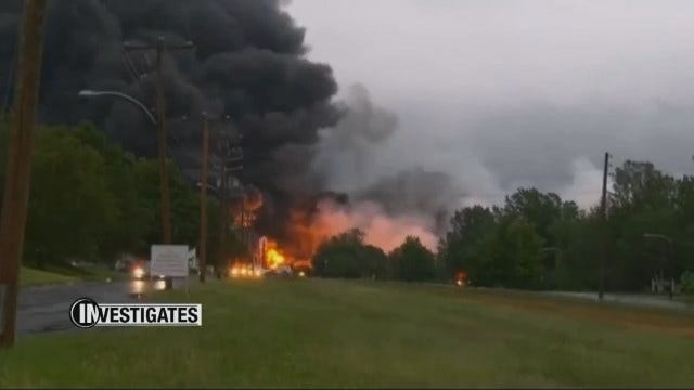 Documents Reveal Path Of Potentially Explosive Trains Moving Through Oklahoma