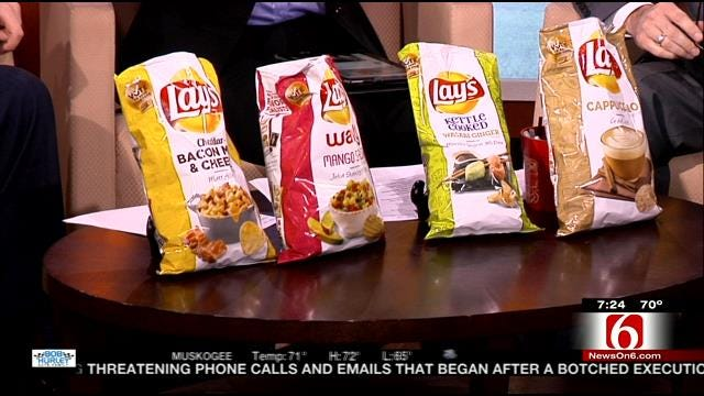 6 In The Morning Samples Lay's 4 Potato Chip Flavor Finalists