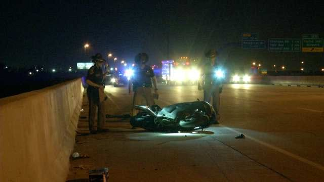 WEB EXTRA: Motorcyclist Critically Injured In High-Speed Tulsa Wreck