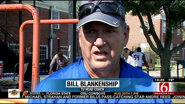 TU's Blankenship Senses Chip On His Team's Shoulder