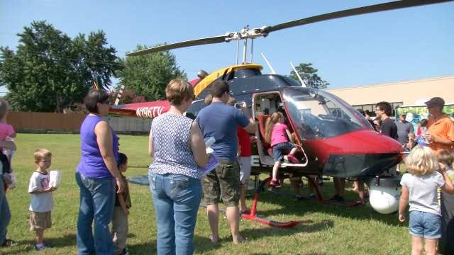 Osage SkyNews 6 HD Appears At Tulsa Library Event