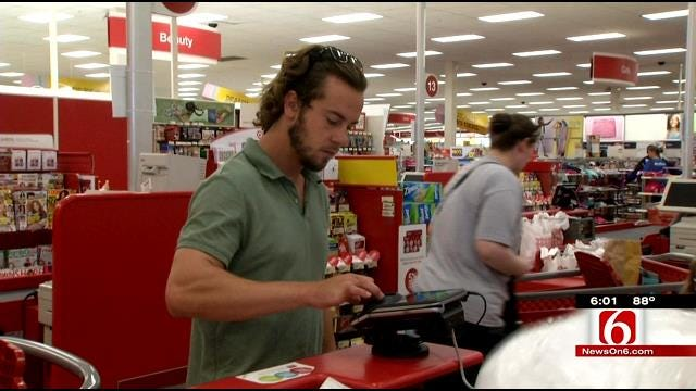 Oklahoma Tax-Free Shoppers, Merchants Out In Force