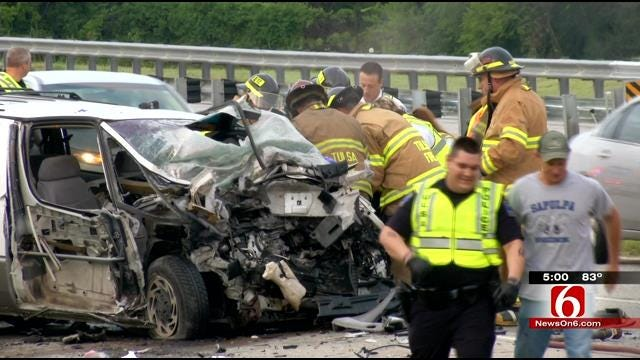 ODOT To Double Check Barrier Placement After Highway Collision