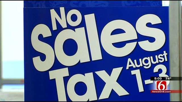 Oklahomans Gear Up For Back-To-School Shopping On Tax-Free Holiday