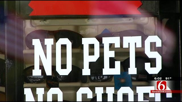 Pets Being Passed Off As Service Animals A Growing Problem In Oklahoma