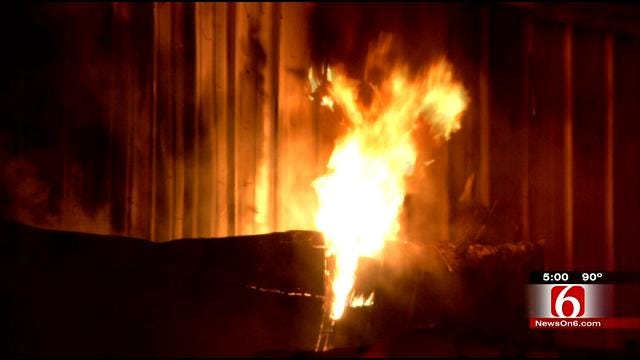 Tulsa Business Owners Offering Reward In Arson