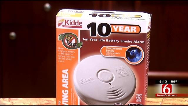 New Smoke Detectors Work As 'Ears' For Hearing Impaired Oklahomans