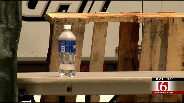 Heat, Lack Of Water Access Concern CoUFest Attendees