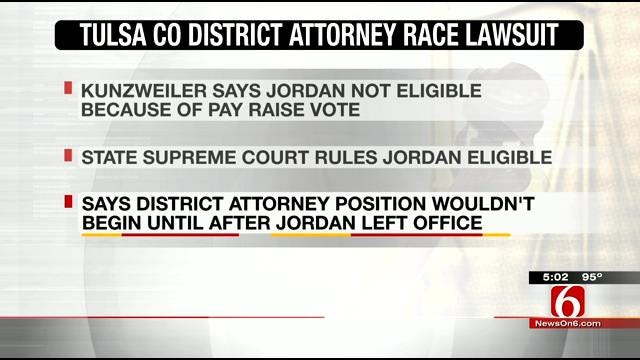 Court Rules Fred Jordan Can Run For Tulsa County District Attorney