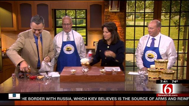 Blue Bell Helps 6 In The Morning Celebrate National Hot Fudge Sundae Day
