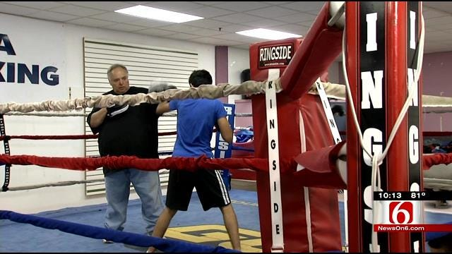 Tulsa Man Uses Boxing To Give Kids 'Fighting Chance'