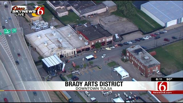 WEB EXTRA: Osage SkyNews 6 HD Flies Over Center Of The Universe Festival