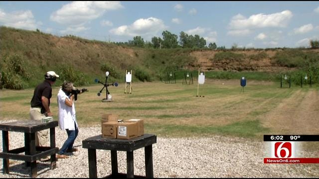 Tulsa County Judges Train With Firearms