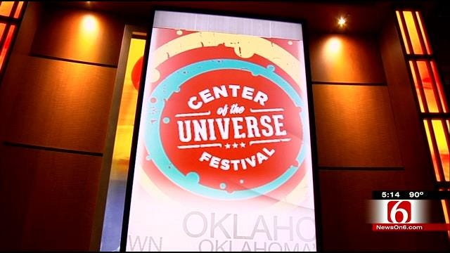 Crews Put Final Touches On Center Of The Universe Festival Preparation
