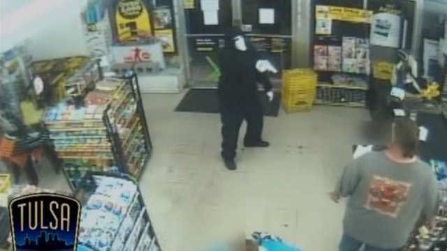 WEB EXTRA: Police Release Surveillance Video From Tulsa Dollar General Robbery