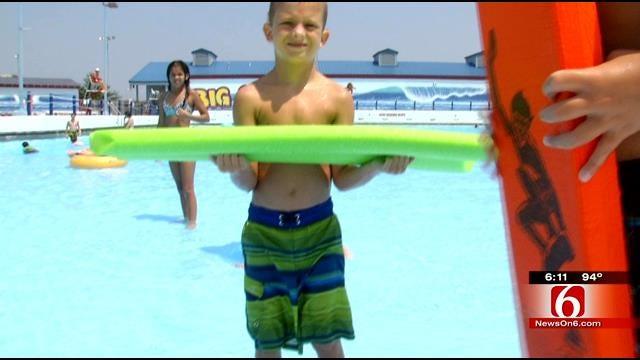 WEB EXTRA: Keeping Cool At Tulsa's Big Splash