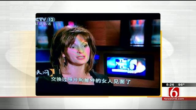WEB EXTRA: Lori Fullbright, Craig Day Talk About A Lori Story Which Appeared On China TV