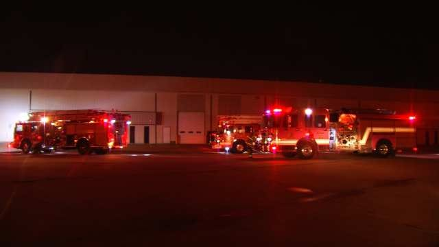 WEB EXTRA: Video From Scene Of Tulsa Business Fire