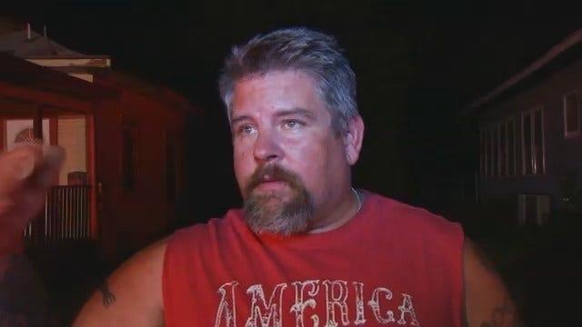 WEB EXTRA: Jeff Heathcott Describes Helping Resident Escape Apartment Near The Fire
